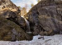 Водопад Шульган в апреле. Заповедник Шульган-Таш