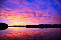 Рассвет на озере Аракуль, Челябинская обл. Южный Урал - Юлия Вандышева
