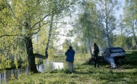 """экспедиция """"Дорогами России"""", 1997 год, западная Сибирь"""