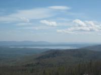 Озеро Тургояк с горы Крутой Ключ, Челябинская область, начало мая - Евгений Сажин