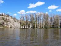 река Белая - Агидель,Южный Урал, Башкирия,  май - Наталья Троицына