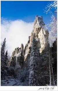 Замороженые скалы (Инзерские зубчатки, Башкирия) - Рыжая Котяра
