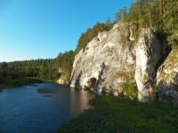 Свердловская обл., река Серга, парк Оленьи ручьи,  июль 2012 - Анна Чешко