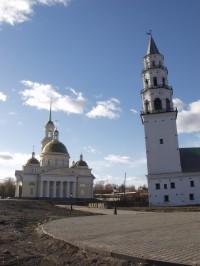 Невьянская башня и Спасо-Преображенский собор