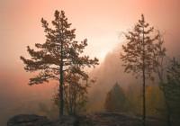 Айгир, рассвет осенью, автор: Павел Меньшиков