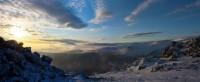 Серебрянский камень, Северный урал вид на конжак - Андрей Linch