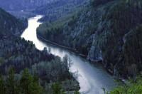 Долина реки Белой, вид с массива Терминтау (Бурзянский район) - Ольга Червяцова