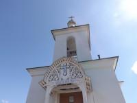 21 ноября 2004 года, в день Архангела Михаила, возрожденный храм был освящён.. Автор: Михаил Латышев