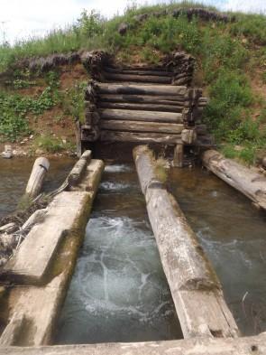 Развалины Кашкинской плотины. Автор: Дмитрий Латышев