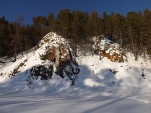Камень Корчаги, река Чусовая. Автор: Михаил Латышев