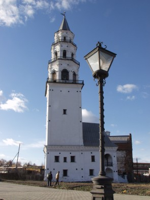 Наклонная башня в Невьяске фото. Автор: