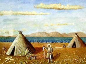 Горы Манарага и Неройка, легенда