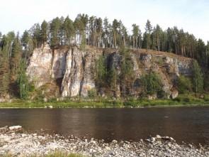 Боец Дождевой, река Чусовая. Автор: Михаил Латышев