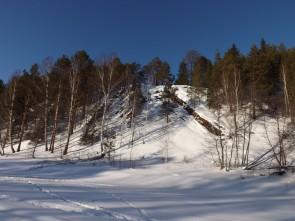 Камень Корчаги. На его вершине раньше была часовня и кладбище. Автор: Михаил Латышев