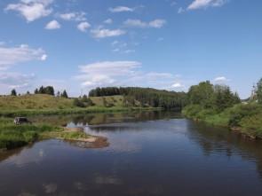 Устье реки Трёки на Чусовой когда-то было гаванью для барок. Автор: Дмитрий Латышев