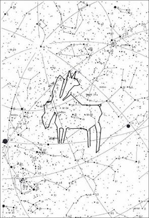 Звездный лось. Автор: не установлен