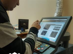 Печать обложки на цифровой машине. Автор: Лариса Позднякова