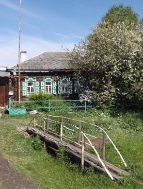 Дом в селе Краснояр на реке Ревде. Автор: Дмитрий Латышев