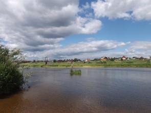 Река Чусовая у деревни Трёки. Автор: Дмитрий Латышев