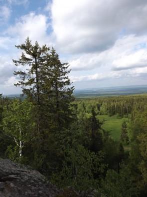 Вид с горы Шунут. Автор: Михаил Латышев