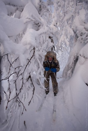 ГУХ, зима. Автор: Лариса Позднякова