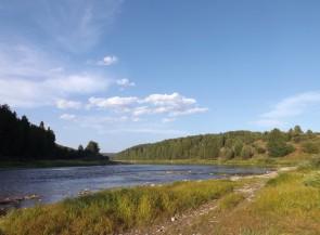 Пристань Кашка на Чусовой
