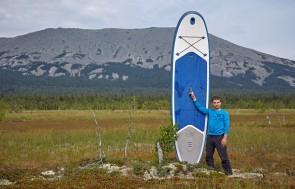 Сап-серфинг на Тыгынских болотах