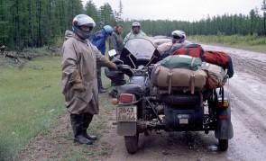 """экспедиция """"Дорогами России"""", 1997 год"""