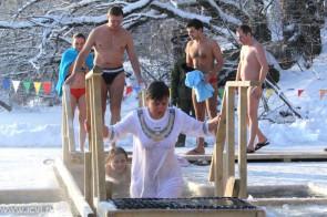 Крещение на Урале. Автор: не известен