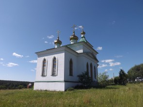 Летом 2003 года начались работы по строительству нового здания храма, по проекту архитектора Бориса Хаустова.. Автор: Михаил Латышев