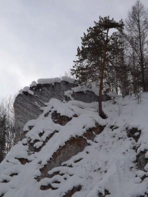 Снег на Гребешке. Автор: Михаил Латышев