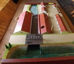 Макет завода Средней Плотины в Кыновском музее. Автор: Михаил Латышев