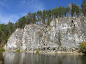 Боец Сибирский река Чусовая