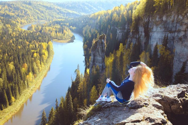 Солнце в волосах. Автор: Юлия Залалова
