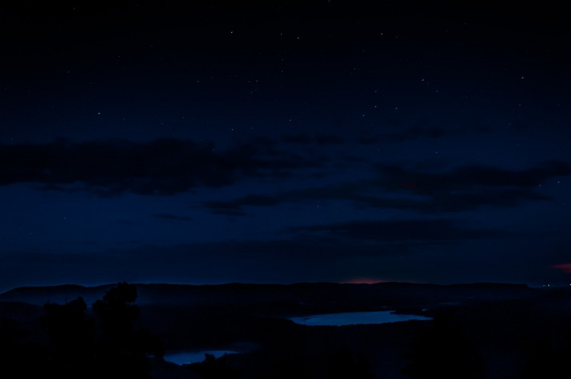 Звездное небо над Аракульским Шиханом. 22-23.07.2017. Автор: Ирина Биктимирова