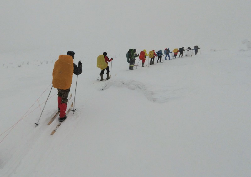 Спуск с горы. Автор: Евгений Жаравин