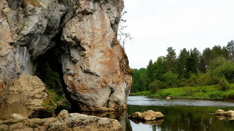 13 августа 2018 года – Скала Пьющая лошадь, природный парк Оленьи ручьи. Автор: Дмитрий Гордеев