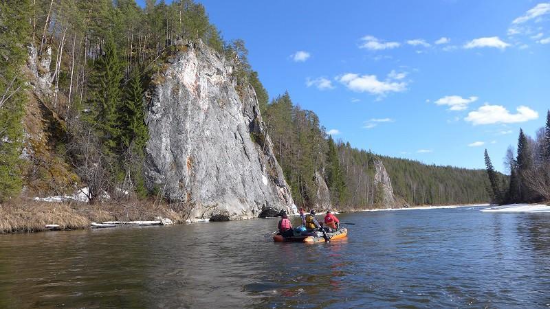 Усть-Кальинские скалы. Автор: Егор Фролов