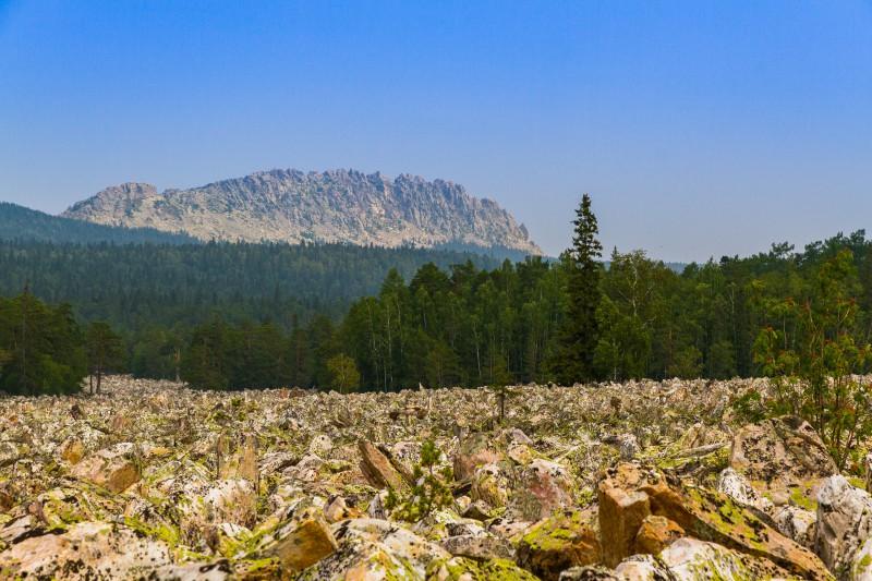 Откликной гребень и Большая Каменная Река. Автор: Игорь Яковлев
