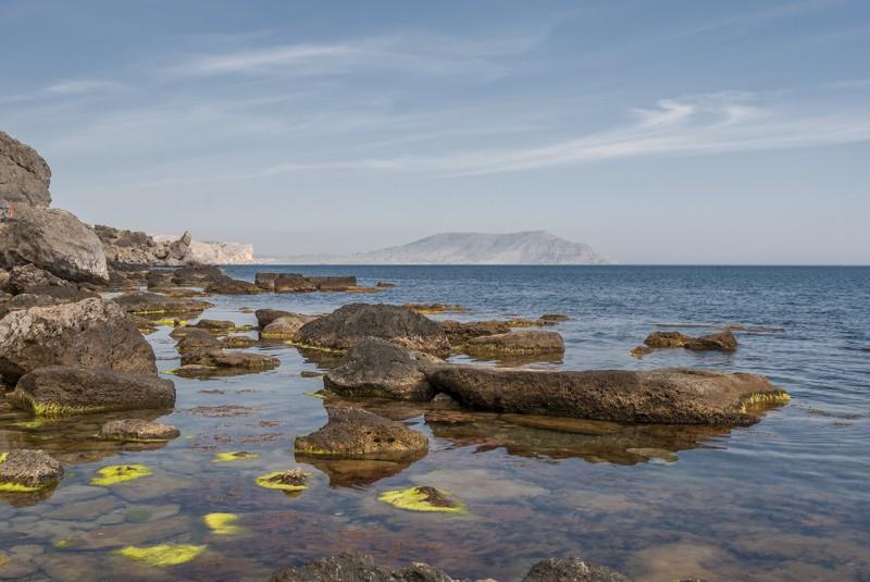 Вид на море. Автор: Ирина Аблеева