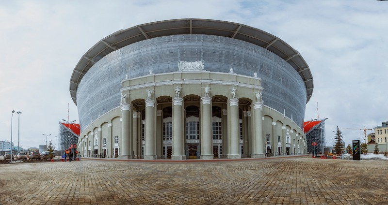 Екатеринбург Арена. Автор: Александр Ежъ Осипов