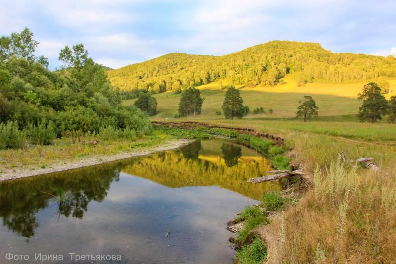 Река Малый Ик. Парк Мурадымовское ущелье. Автор: Ирина Третьякова