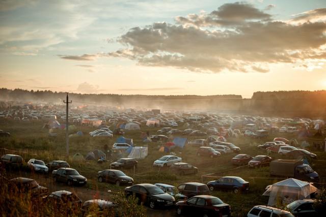 Лагерь фестиваля Зов Пармы. Автор: Ольга Шварева-Кондрашева