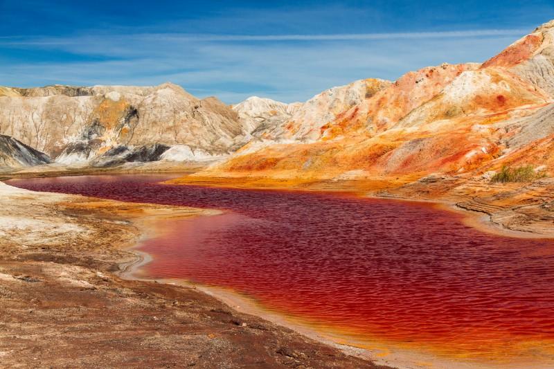 Кровавая река Марса. Автор: Игорь Яковлев