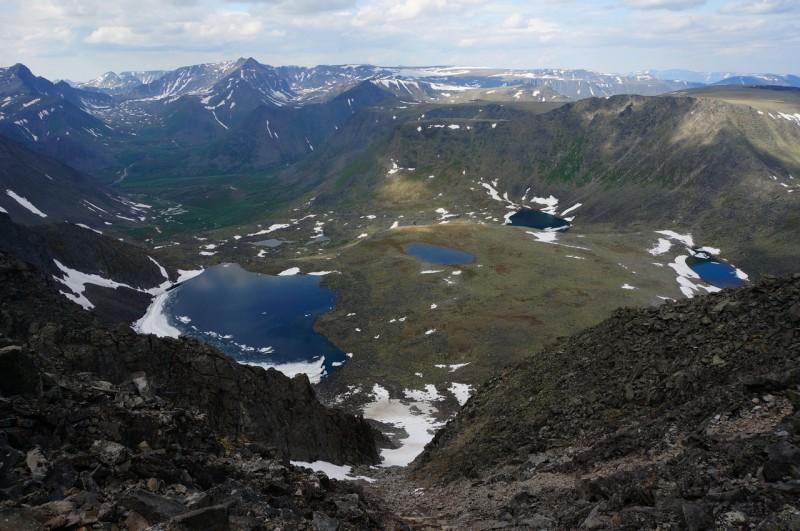 Озёра вблизи плато Народы. Автор: Павел Чеботарь
