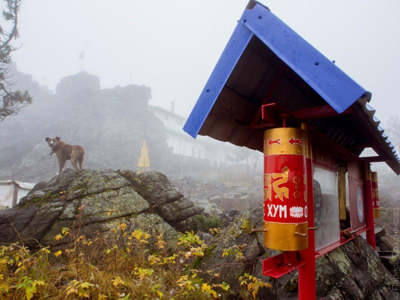 Шад Чуп Линг, буддийский монастырь на горе Качканар. Автор: Лариса Позднякова