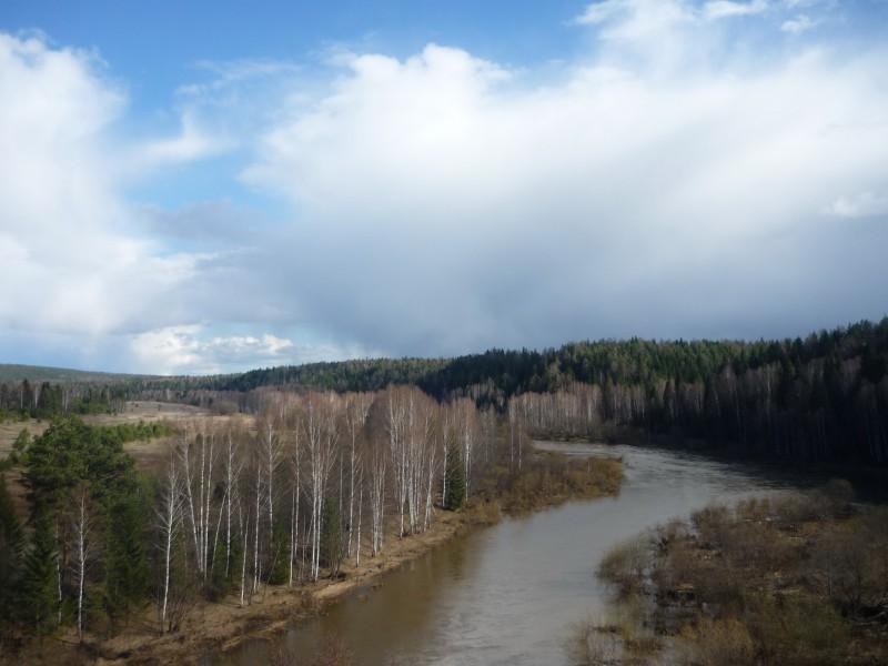 Река Чусовая, Родинский перебор. Автор: Дмитрий Латышев