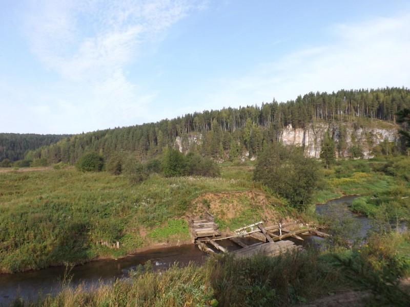 Плотина на реке Кашке. Боец Дождевой. Автор: Дмитрий Латышев