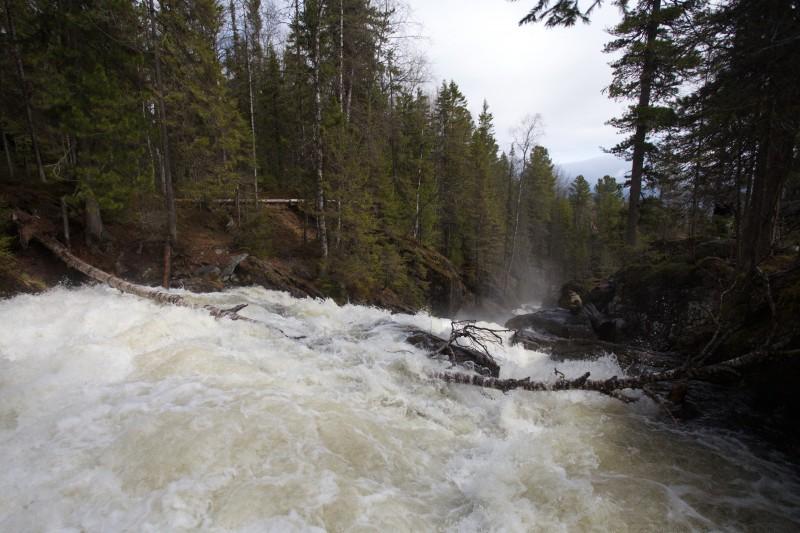 Жигалан из спокойной горной речушки превратился в бурлящий поток ДО. Автор: Евгений Жаравин