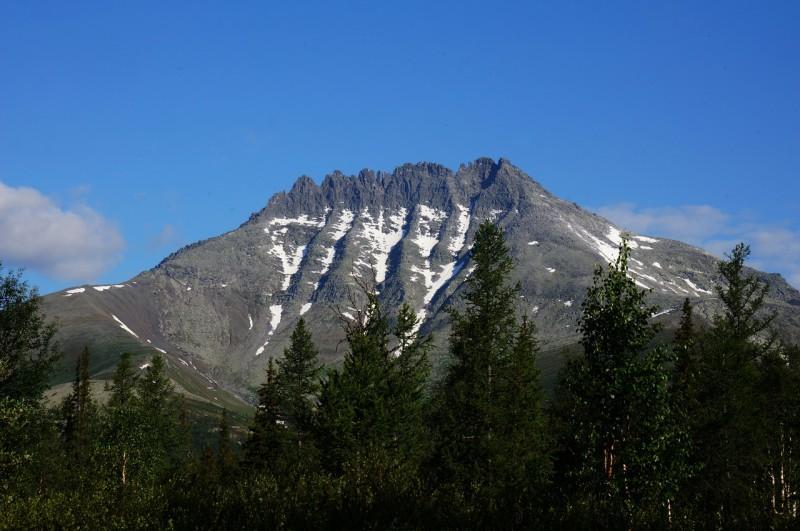 Вид на гору Манарага из лагеря. Автор: Павел Чеботарь
